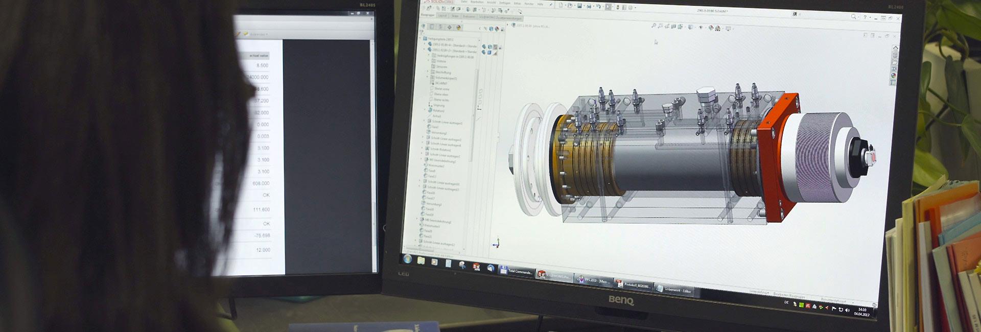 Konstruktion/ Visualisierung | SPL Spindel und Präszisionslager GmbH