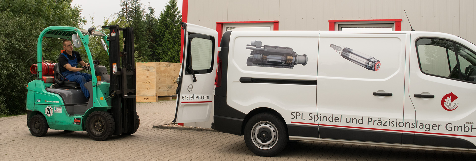 Transport | SPL Spindel und Präzisionslager GmbH